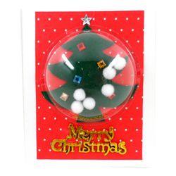 [만들기패키지] 눈꽃트리카드 (5인용)  크리스마스카드만들기