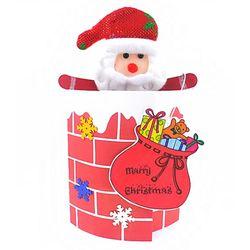 [만들기패키지] 굴뚝속 산타카드 (5인용)  크리스마스카드만들기