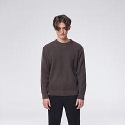 Modern round knit (Khaki)