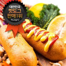 장순필푸드 돈육 킹앤퀸 핫도그 10개 (150g X 10EA)