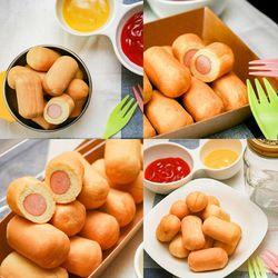 장순필푸드 아이들간식 엄지핫도그 1봉 (400g)