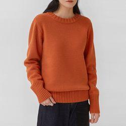molia basic round wool knit