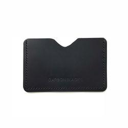 이니셜 CARD WALLET BLACK