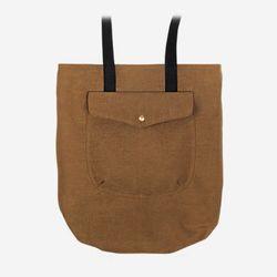 1 Pocket 2 Way Bag 왁스캔버스 ( Camel )