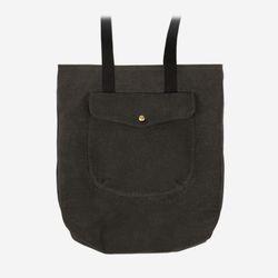 1 Pocket 2 Way Bag 왁스캔버스 ( Charcoal )