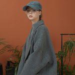 hoist over long coat (deep gray)