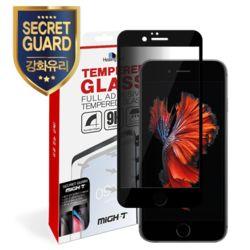 아이폰6S 3D 시크릿가드 강화유리 풀커버1+후면1-블랙