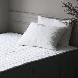 케이블 극세사 침대패드 싱글슈퍼싱글(2color)