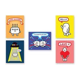 INM 메세지 카드 Set