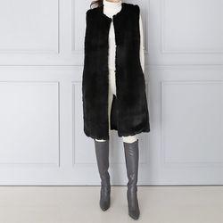 Minky Echo Fur Vest