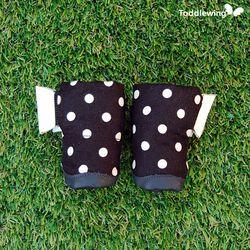 강아지신발 블랙 마카롱2 M