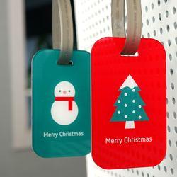아이콘 네임택-Christmas(Large 주문제작형)