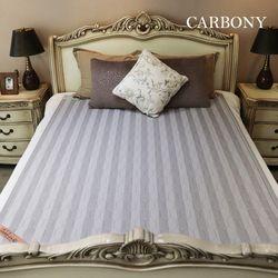 카보니 숯발열 탄소 전기 매트(코튼)2인용