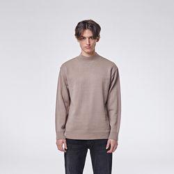 Modrn half neck knit (Beige)