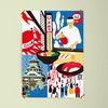 유니크 일본 디자인 포스터 M 코노하콜라주1 A3(중형)