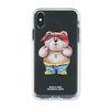 PHONE CASE THUG BEAR CLEAR iPHONE Xs  Xs MAX  Xr