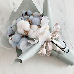 목화사탕꽃다발 2color