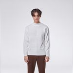 Modrn half neck knit (White)