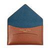 [폴바이스]Cardholder Brown-Blue카드지갑 브라운-블루 PV701BRB