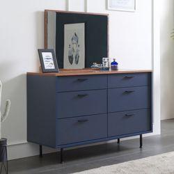 블랑 1200 3단 서랍장 + 거울