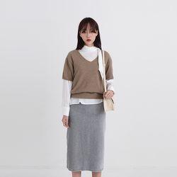 george v-half knit (5colors)