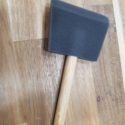 스펀지 폼 브러쉬 4인치(약100mm)