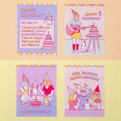 아르디움 생일축하 카드