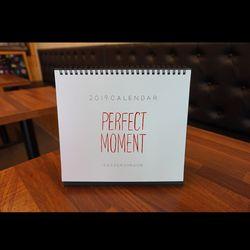 2019 Moment desk calendar