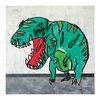 중형 패브릭 포스터 S073 공룡 동물 그림 액자 티라노사우루스
