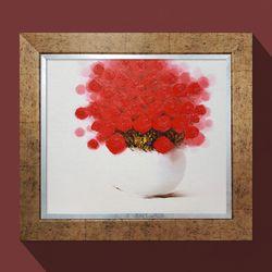 기쁨의장미 꽃그림 화가그림 풍수지리인테리어