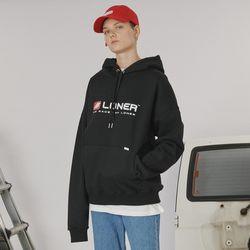 Box logo hoodie -black