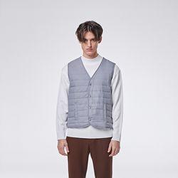 Basic padding vest (Grey)