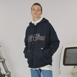 Fast and finish hoodie -navy