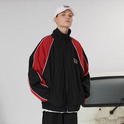 Racer track jacket -black