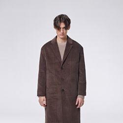 Gambler corduroy coat (Brown)