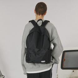 Rubber logo packpack -black