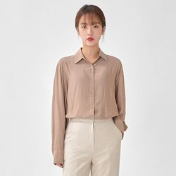 mellow soft silk blouse