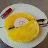 Fur Circle Yellow