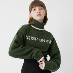 ALPHA LAMBSWOOL KNIT (GREEN)