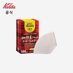 칼리타 카페의 커피  커피필터 101 100매 화이트