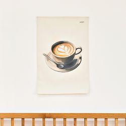 커피시리즈 패브릭 포스터.가리개커튼 (M 사이즈)