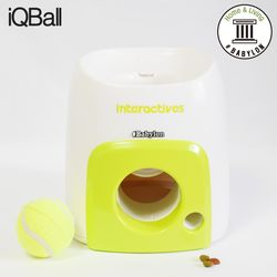 iQBall 애견용 셀프 자동 공놀이 테니스공 포함