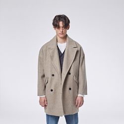Jeste pin coat (Beige)