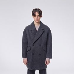 Jeste pin coat (Charcoal)