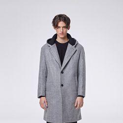 Nd hoodie coat (Grey)