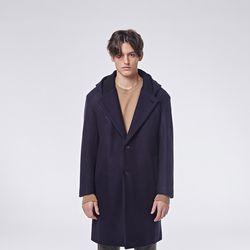 Nd hoodie coat (Navy)