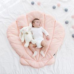코니테일 아기 이불패드 S - 조개 (유아 신생아패드)