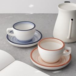 데니쉬 찻잔 커피잔 2P set