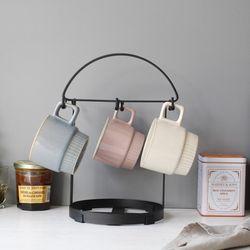 디몬 철제 커피잔 걸이 - 4color