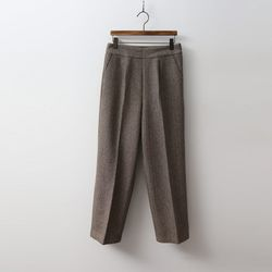 Herringbone Wool Pants